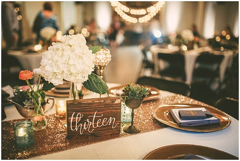 sparkly wedding dcor