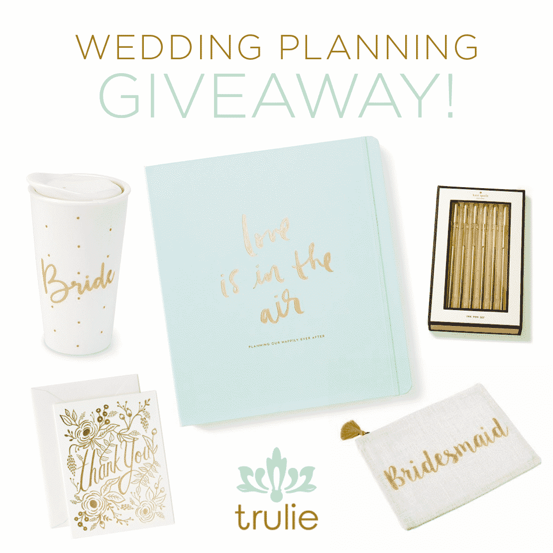 Don't miss out on this amazing wedding essentials giveaway from Trulie! They have the best gifts and products for savvy and stylish women!
