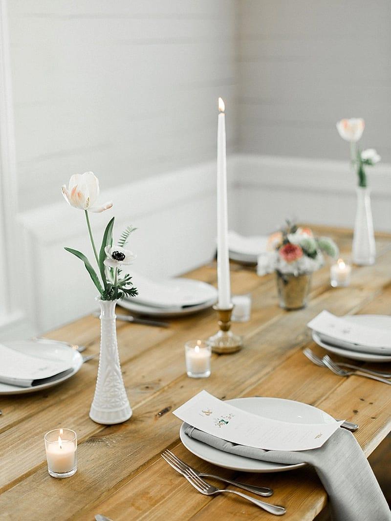 chic wedding decor