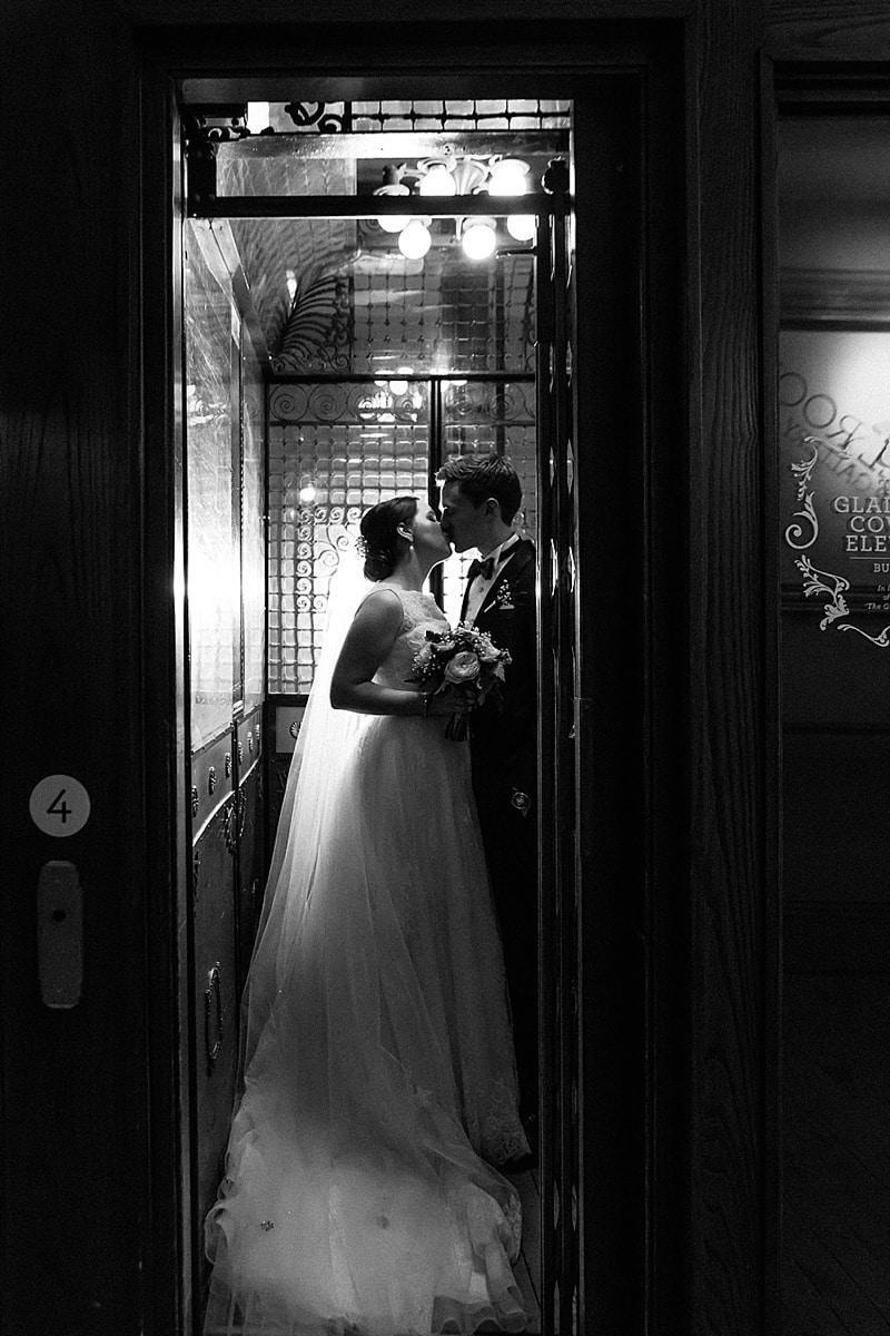 hotel couple wedding photos