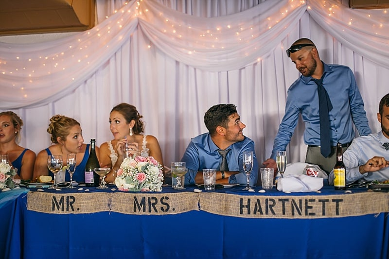 couple's table