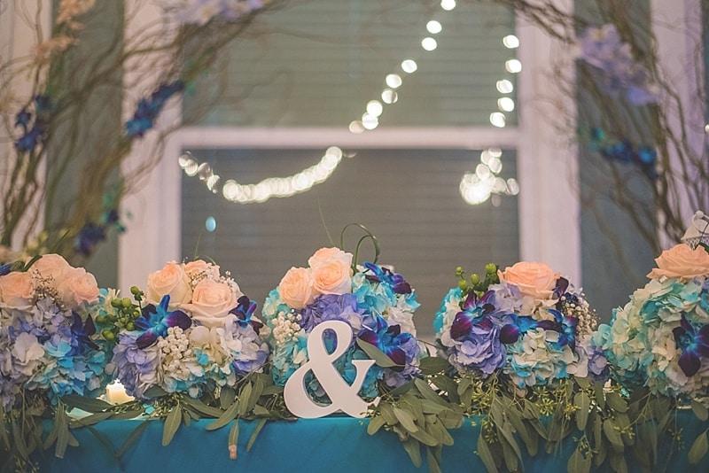 lantern and flowers decor