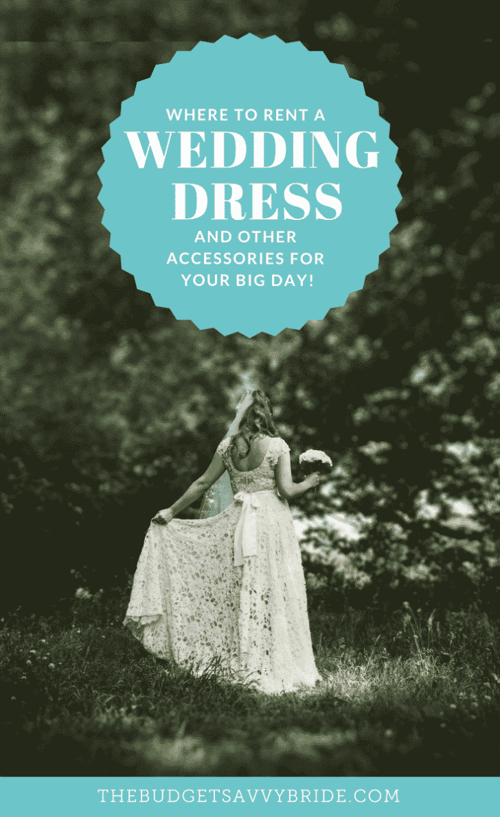 Rent Your Wedding Dress instead of Buying | Wedding Budget Tip