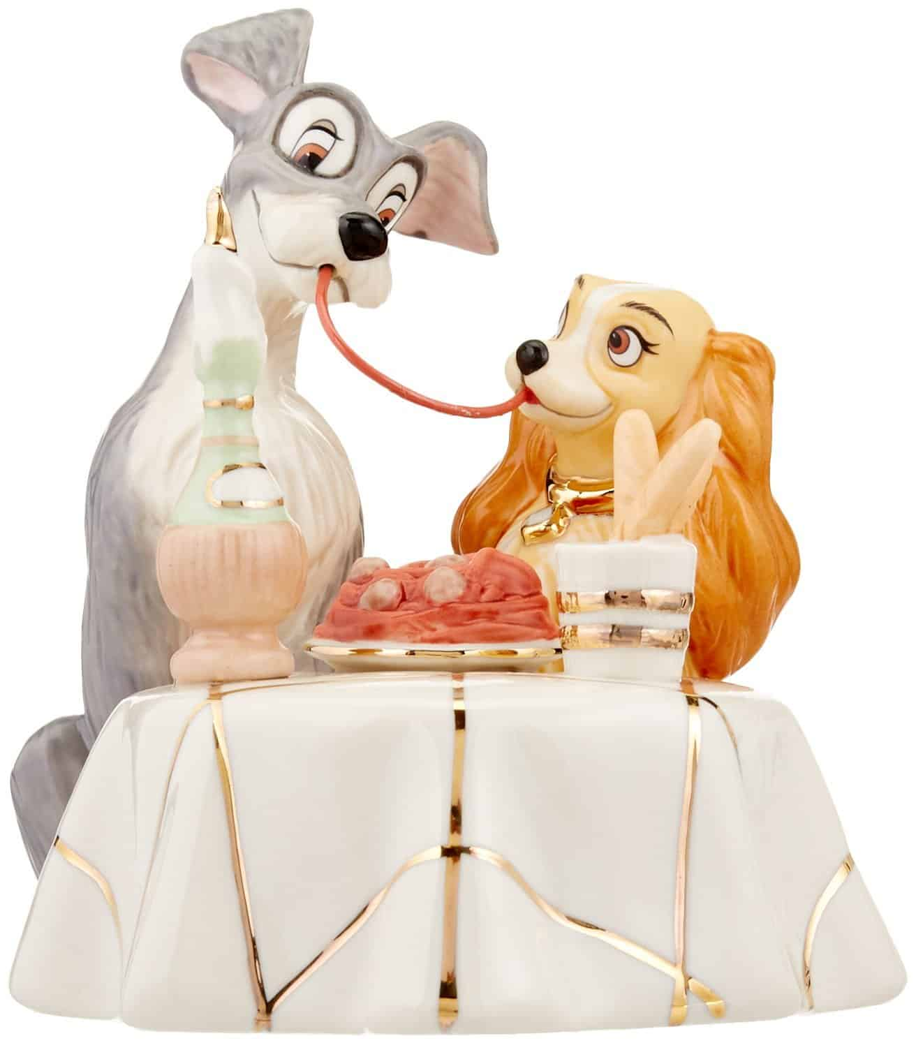 Lady and the Tramp Wedding Cake Topper