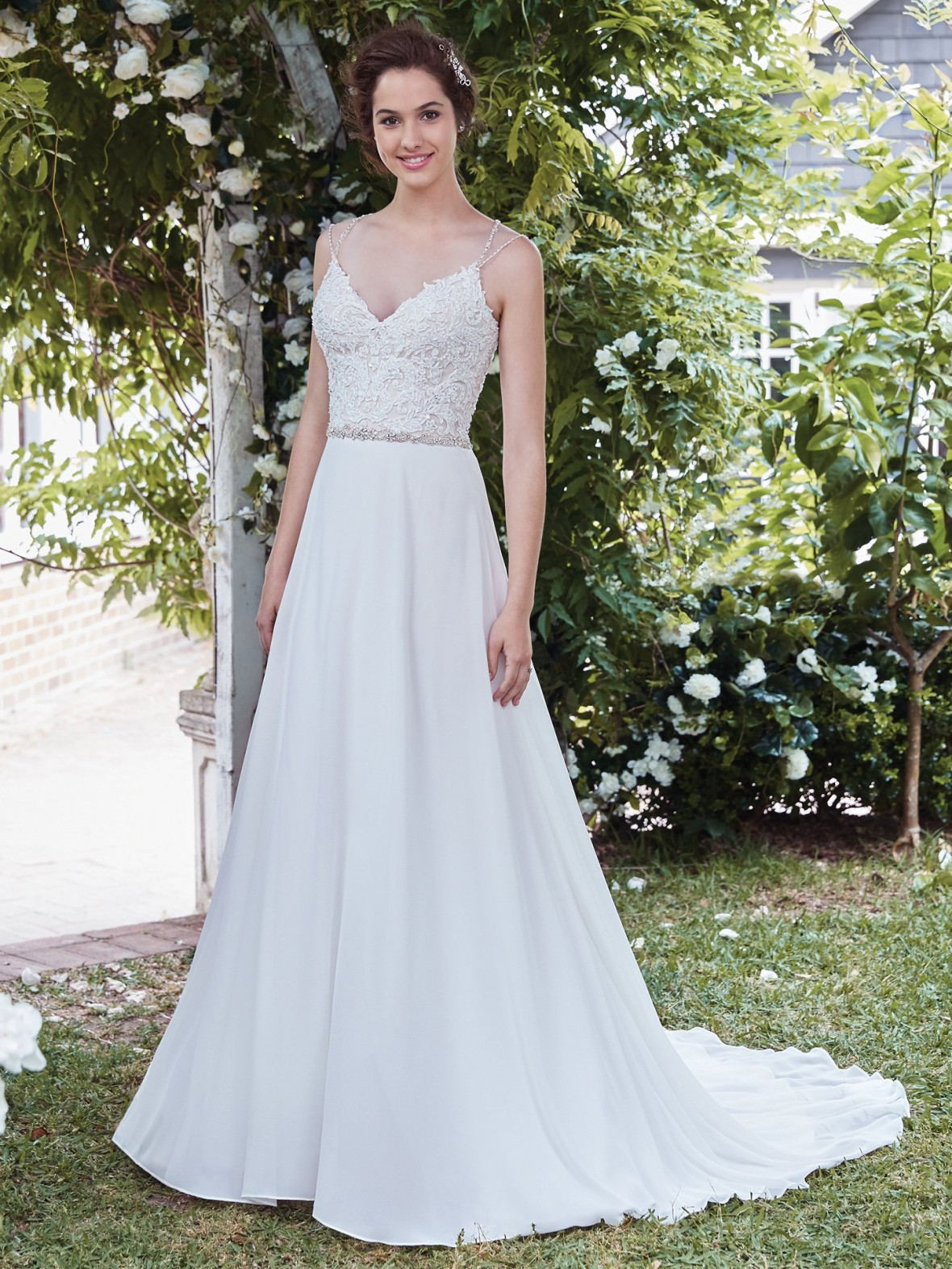 Rebecca Ingram - Diana | affordable beach wedding dresses