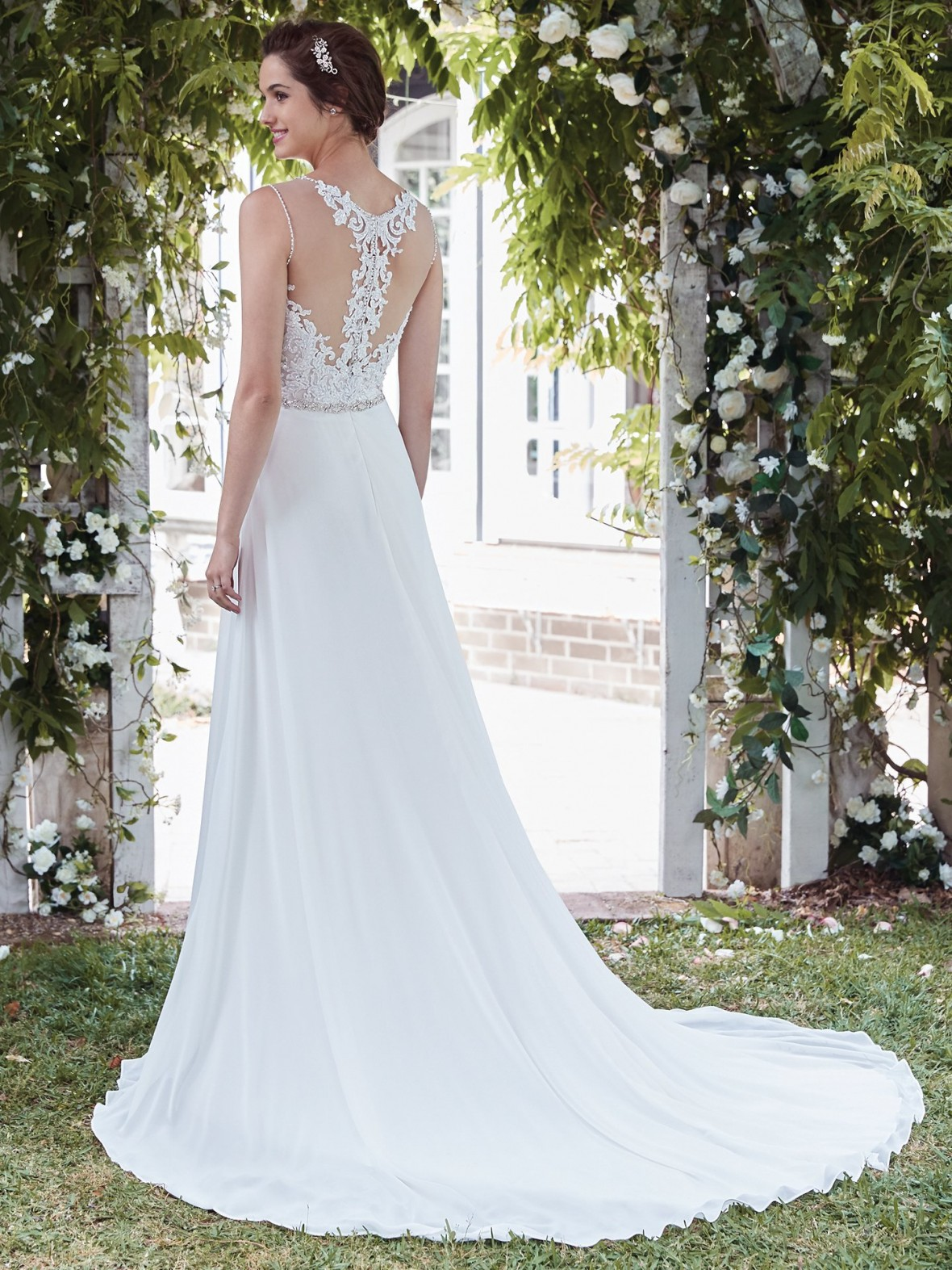 ... Rebecca Ingram   Diana | Affordable Beach Wedding Dresses ...