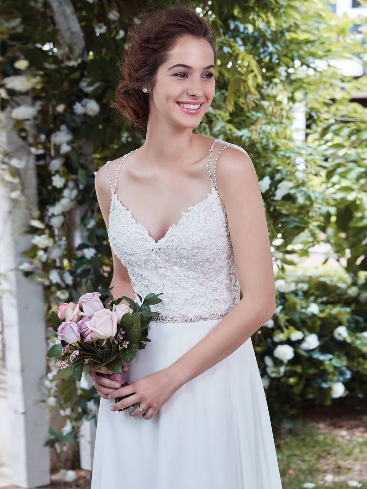 Rebecca Ingram - Diana   affordable beach wedding dresses