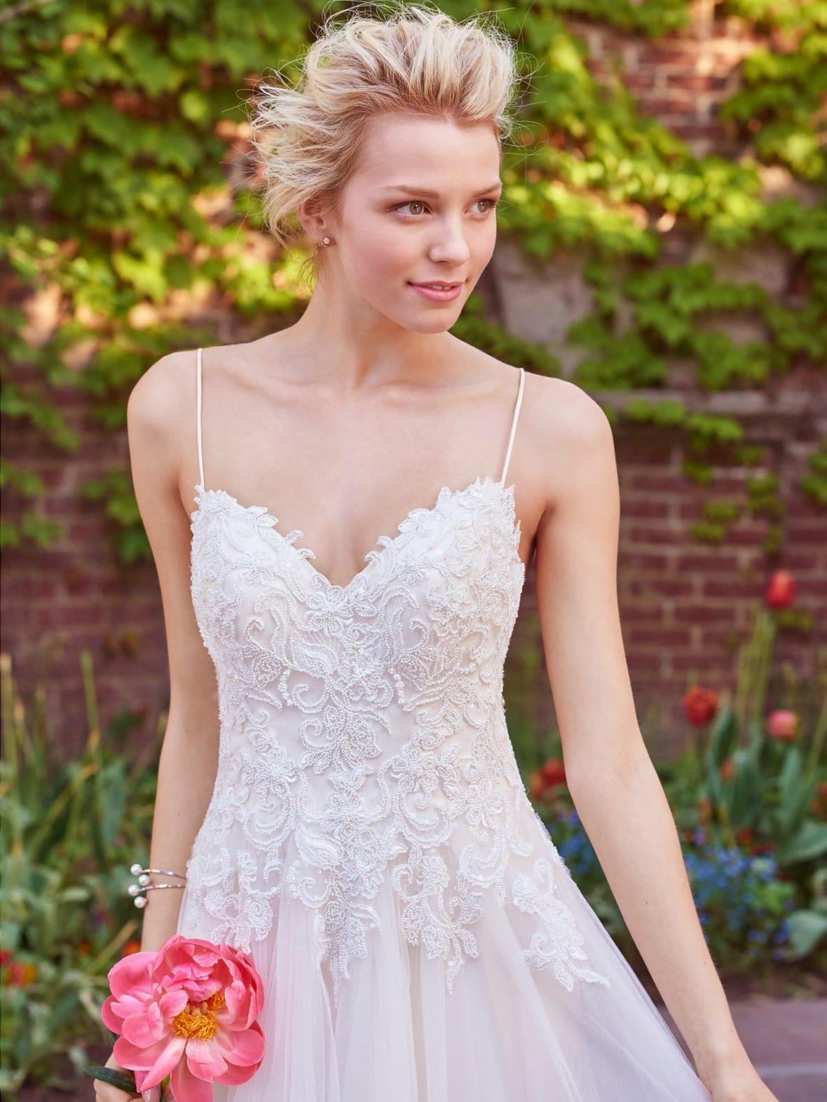 Rebecca Ingram - Marjorie   affordable beach wedding dresses