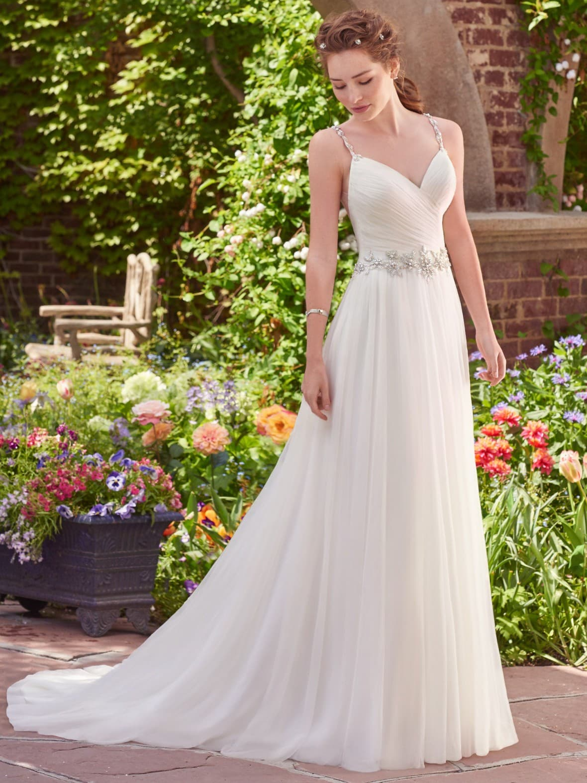 Rebecca Ingram - Shelley | affordable beach wedding dresses