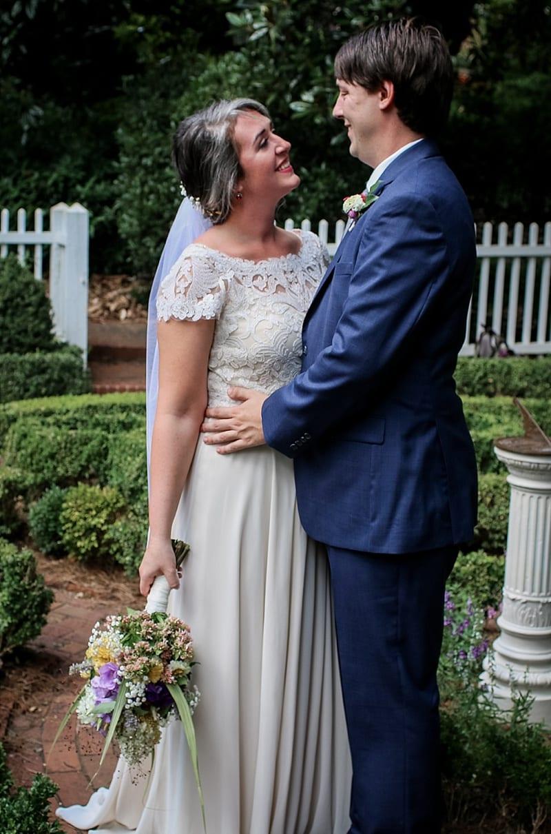 First Look Wedding Ceremony