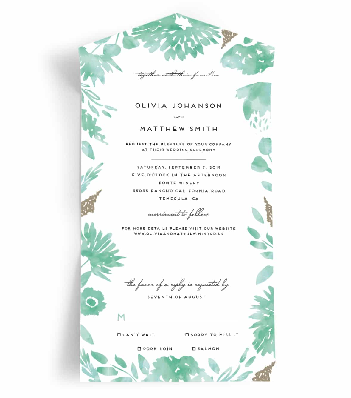 the most inexpensive and efficient wedding invitations ever the