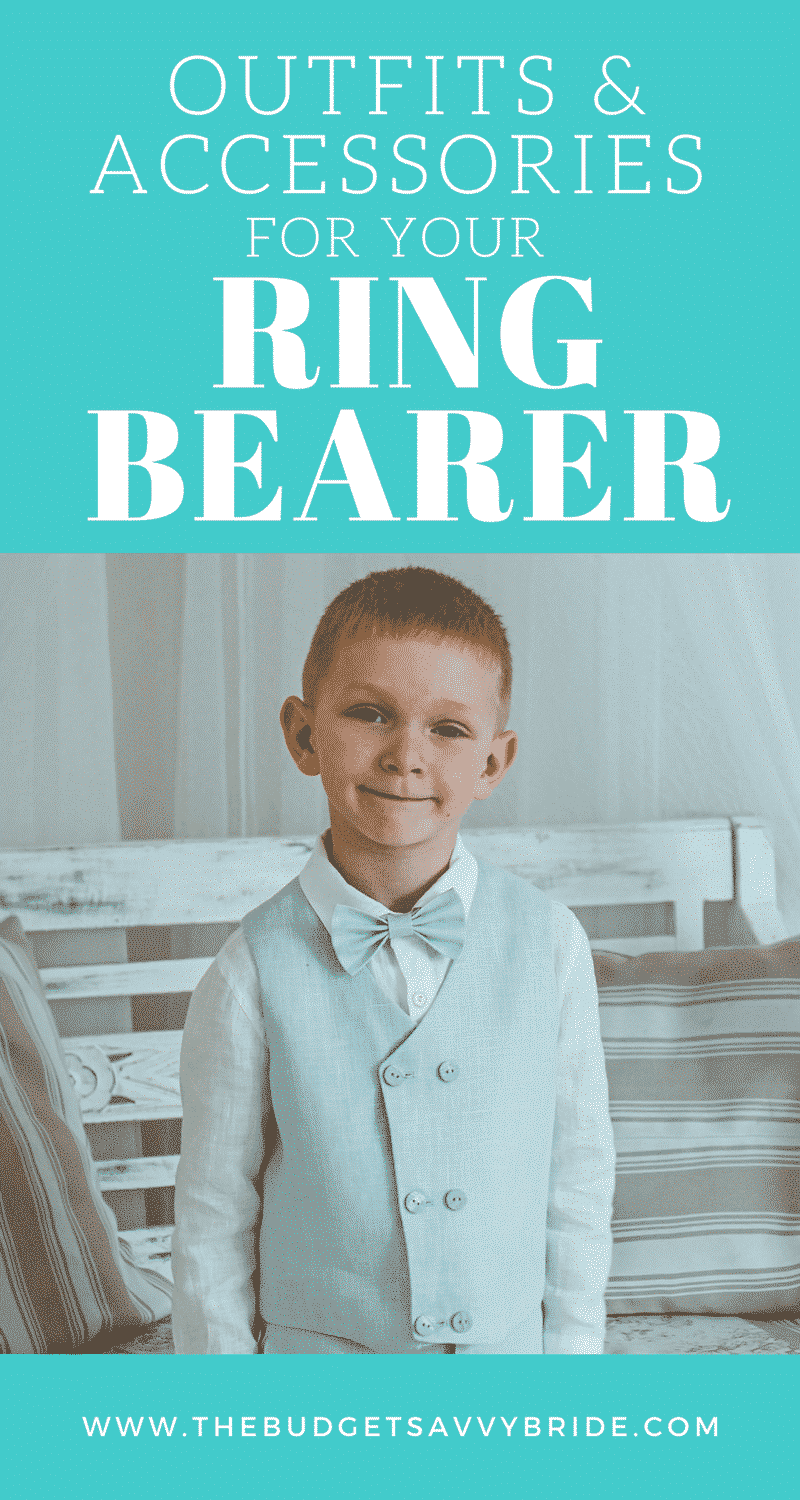 Ring bearer apparel doesn't have to be boring. We found ten adorable and unique options for your special little dude over on Etsy.