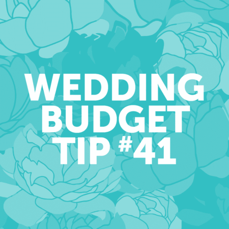 Wedding Budget Tip #41: Close the bar an hour early and offer a coffee bar instead!