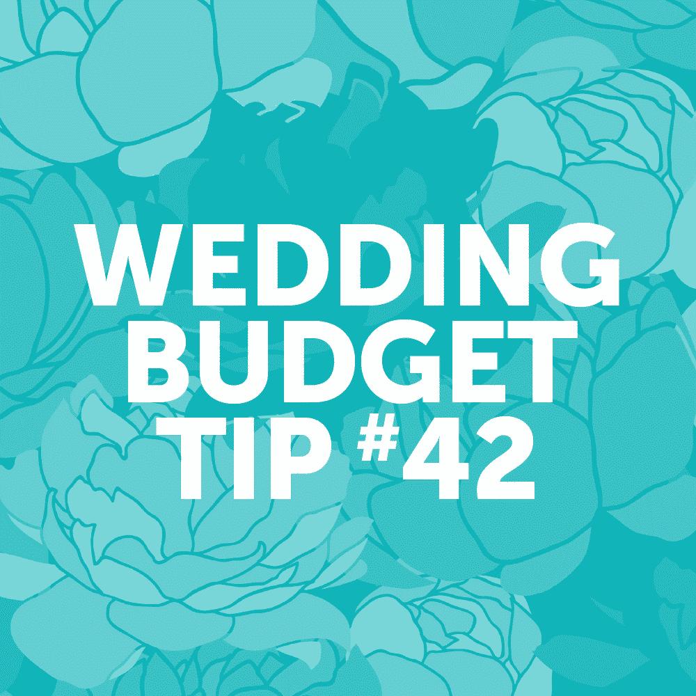 Wedding Budget Tip 42: DIY Your Wedding Invites!