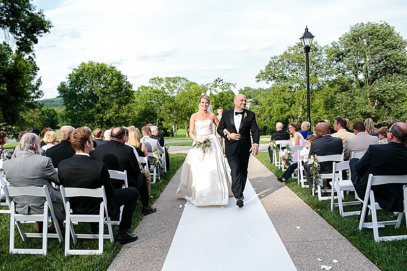 Chic tennessee wedding the budget savvy bride wedding recessional junglespirit Gallery
