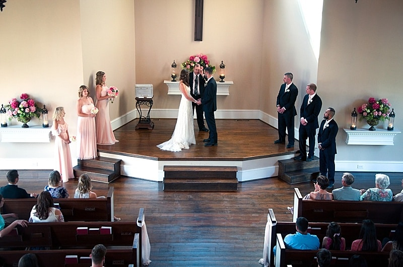 church wedding ceremony