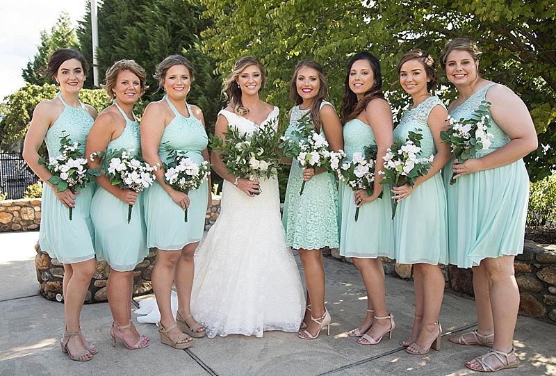 Summer Asheville Wedding
