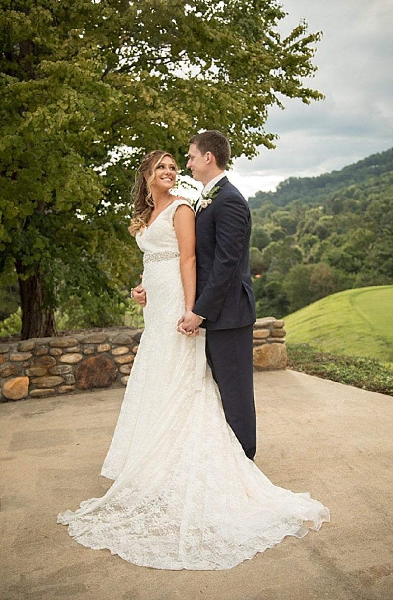 Summer asheville wedding the budget savvy bride for Wedding dresses asheville nc