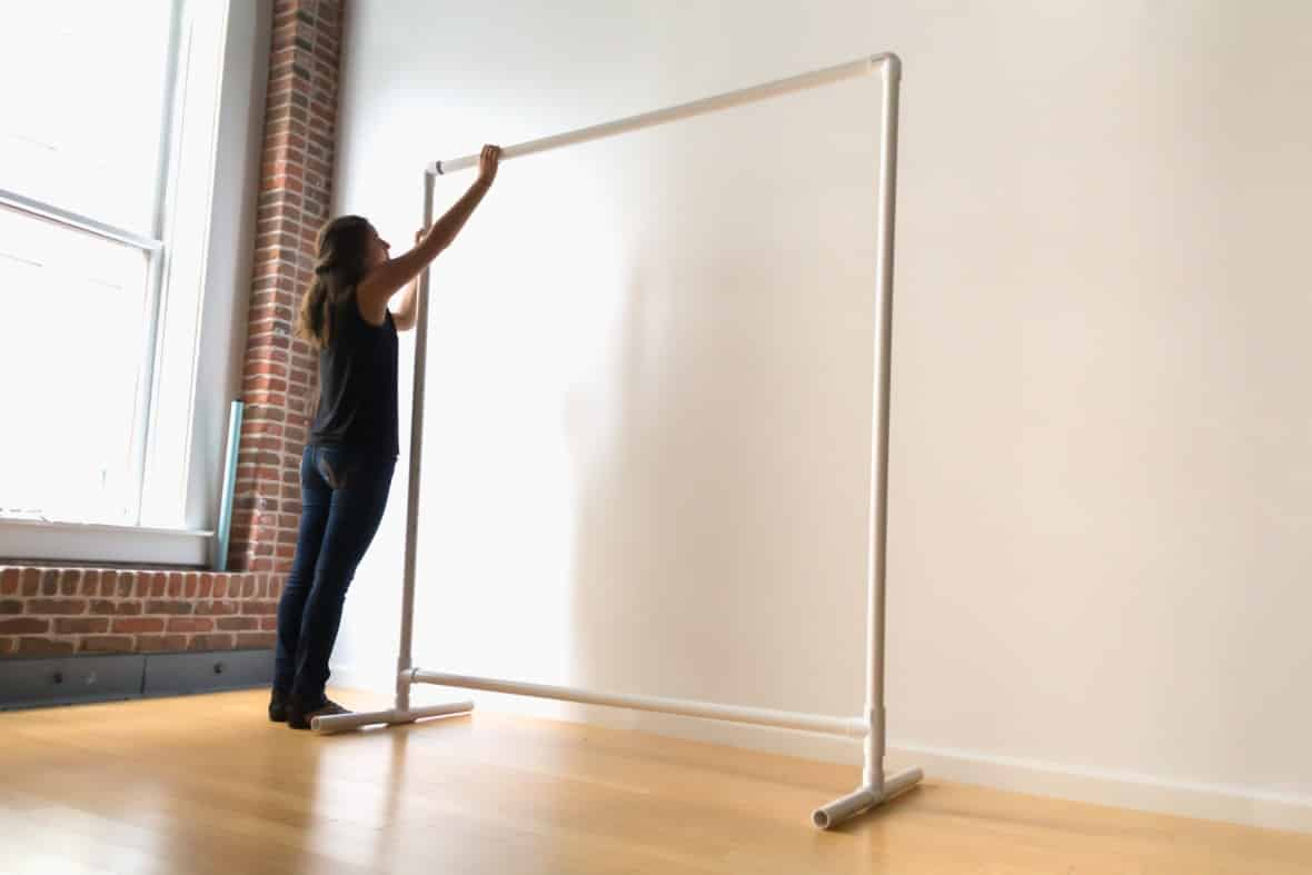 diy backdrop stand