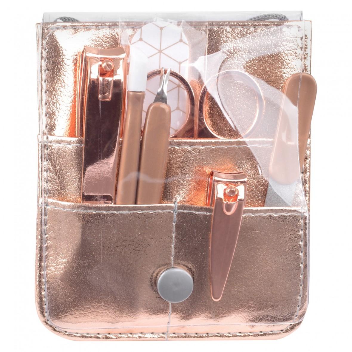 rose gold manicure set