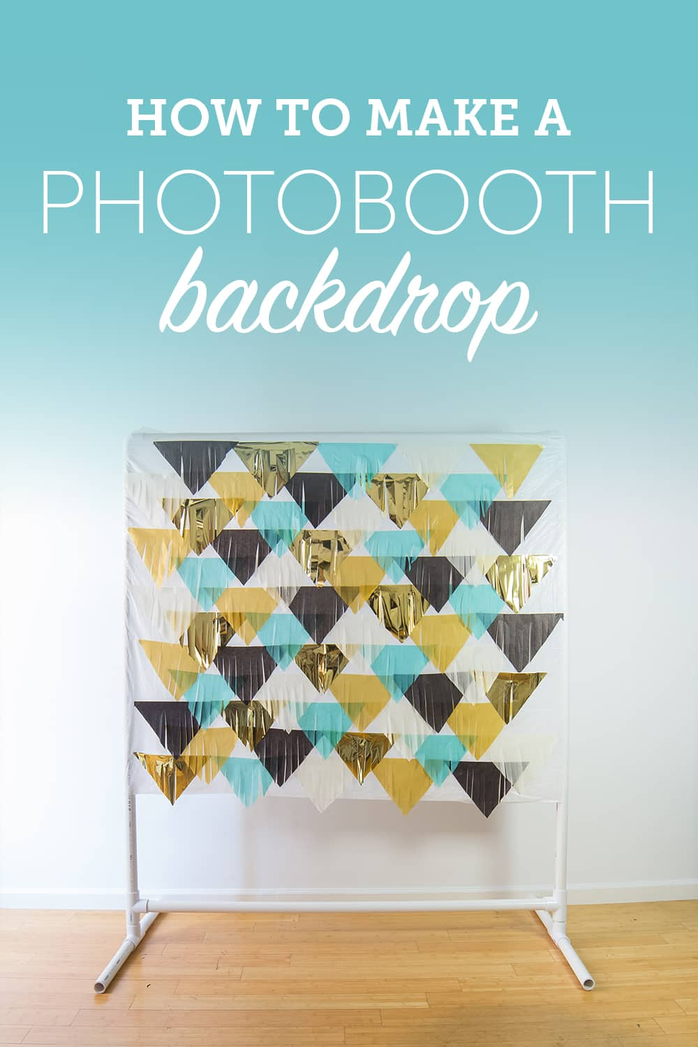 Learn how to put together your own DIY photobooth backdrop for your wedding day. This Fringe Backdrop is a super easy and affordable project.
