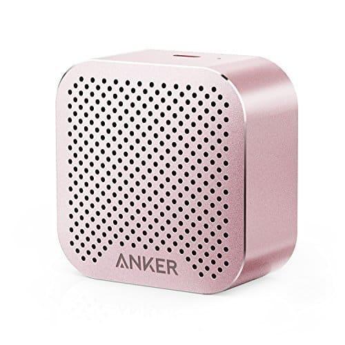 rose gold anker speaker