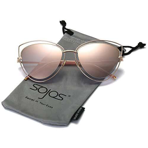 rose gold sojos sunglasses
