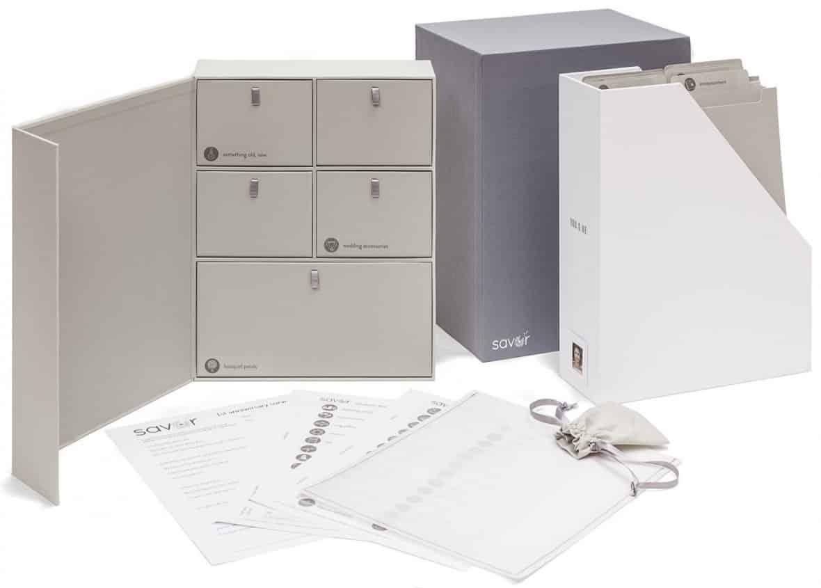 Savor Keepsake Wedding Memory Boxes