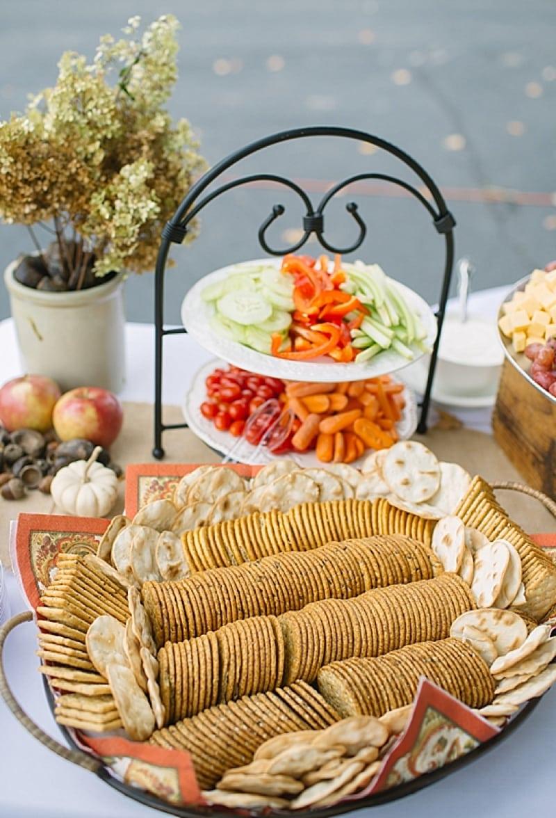 appetizer reception