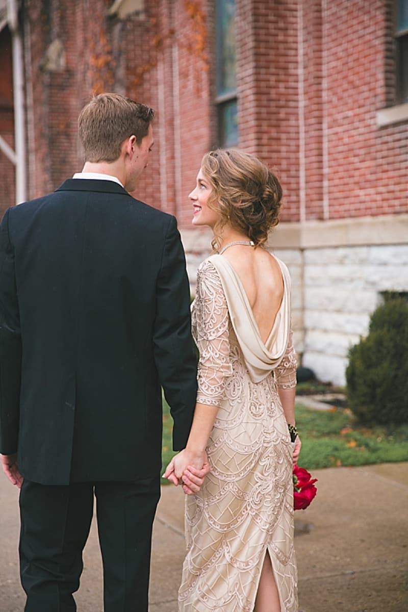 Winter indianapolis wedding the budget savvy bride for Wedding dress alterations indianapolis