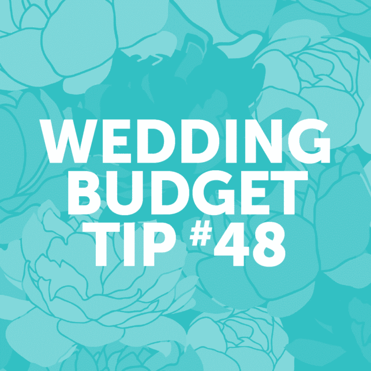 wedding budget tip 48: opt for a dessert buffet instead of a traditional wedding cake