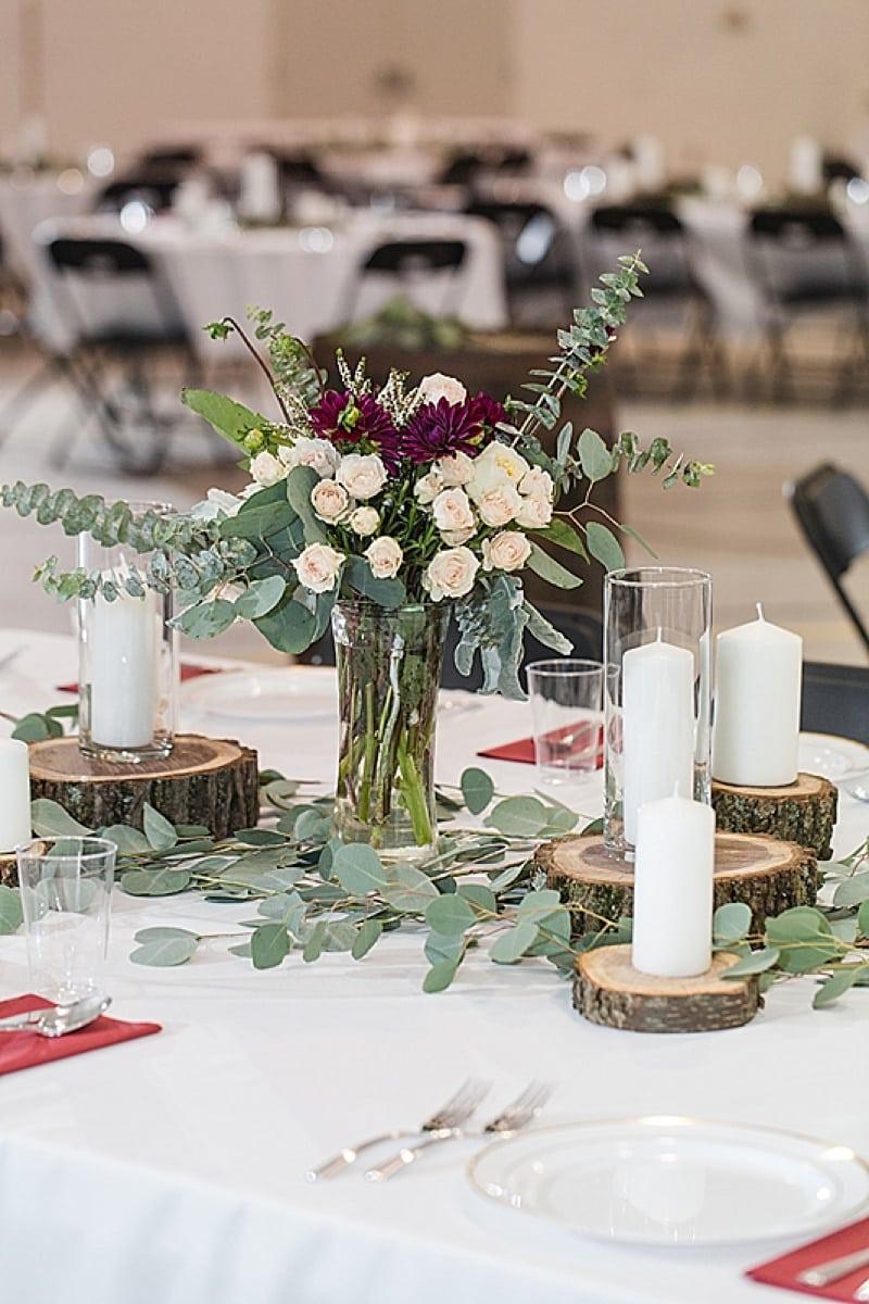 Diy ohio wedding for 10k the budget savvy bride diy reception decor solutioingenieria Image collections