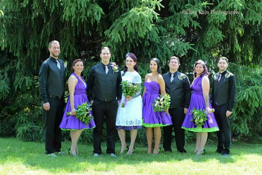 Pantone Ultra Violet Purple Convertible Bridesmaid Dress by StaysiLee