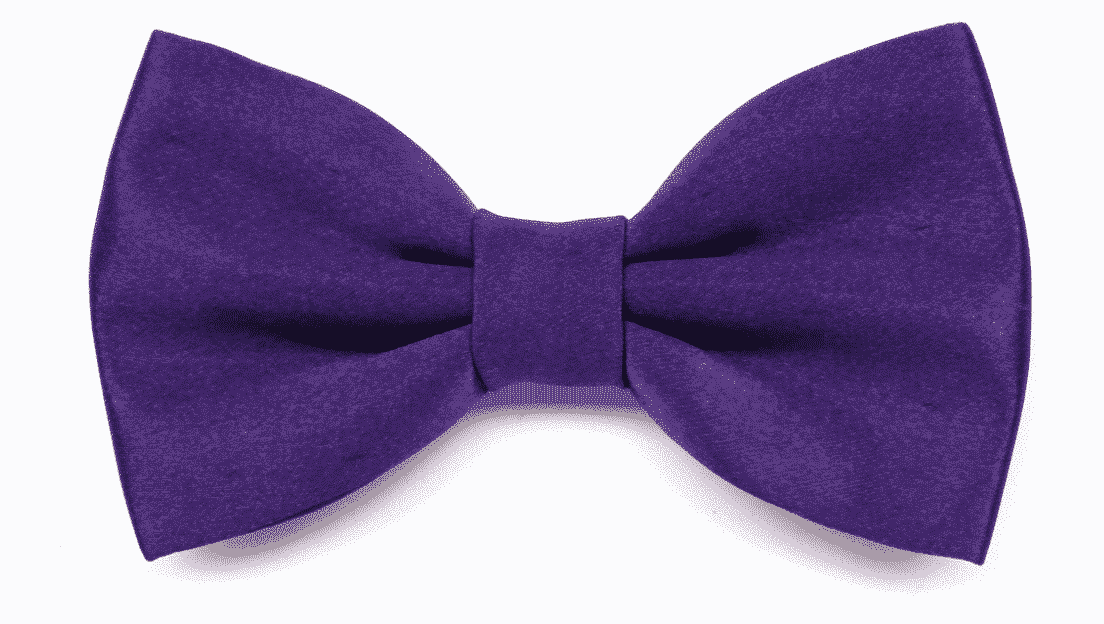 Ultra Violet Bow Tie by ScoccaPapillon