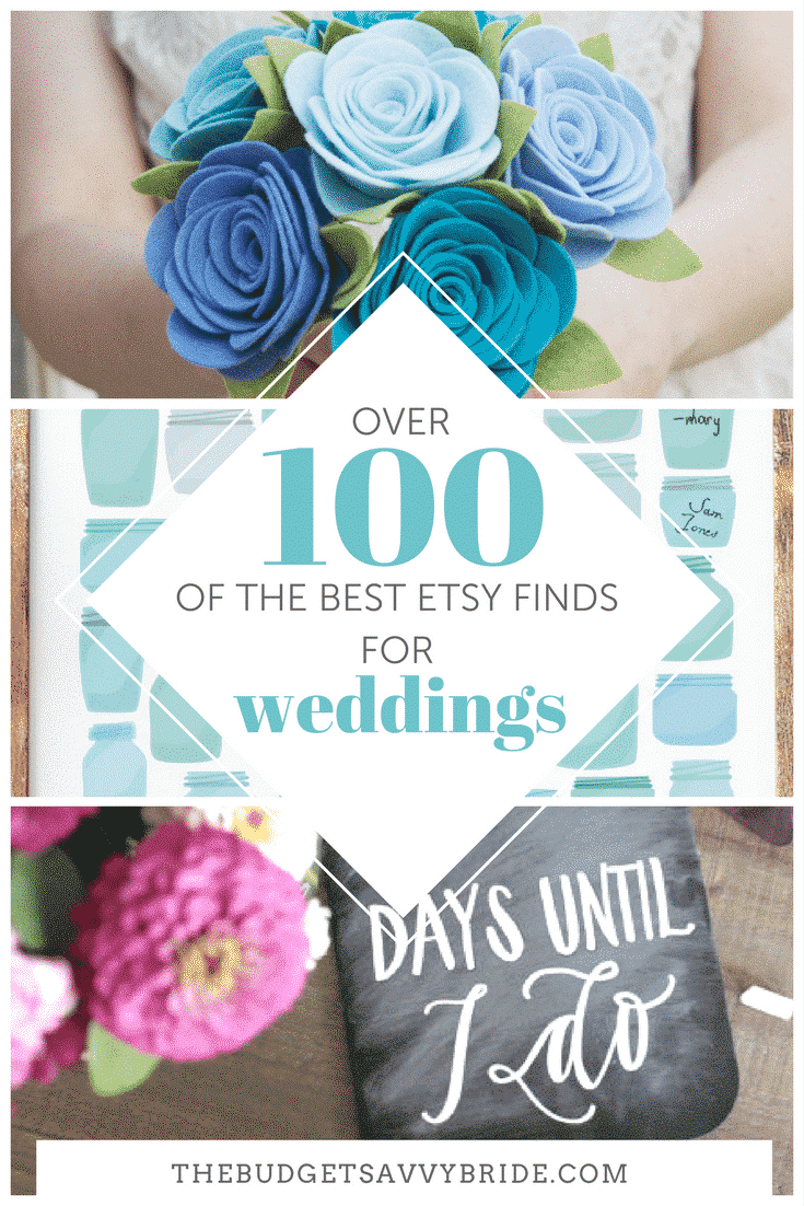 Check out our top 12 Etsy round-ups, including our favorite wedding gown designers, gifts for your wedding party, decor options, and more!