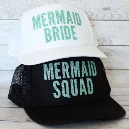 Mermaid Bride or Squad Hat by BubblyAndBash