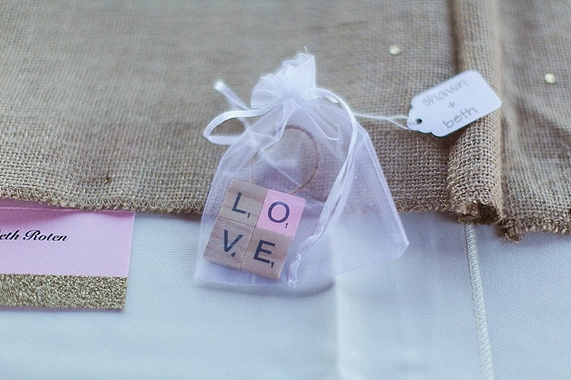DIY ornament favors