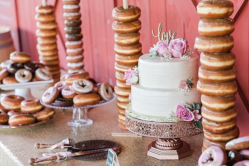 donut table