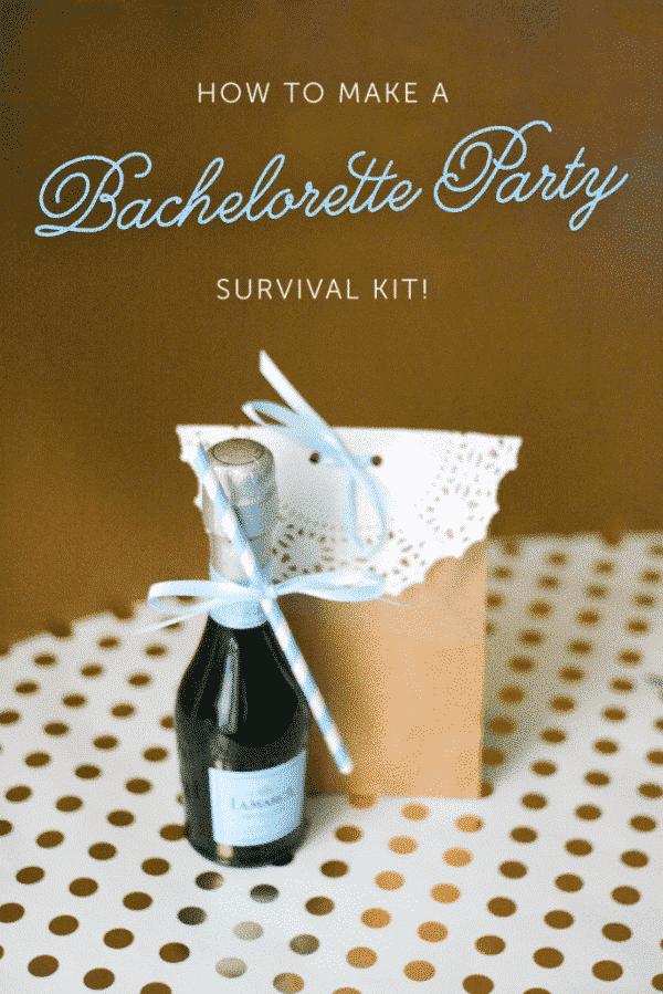 Bachelorette Party Survival Kit