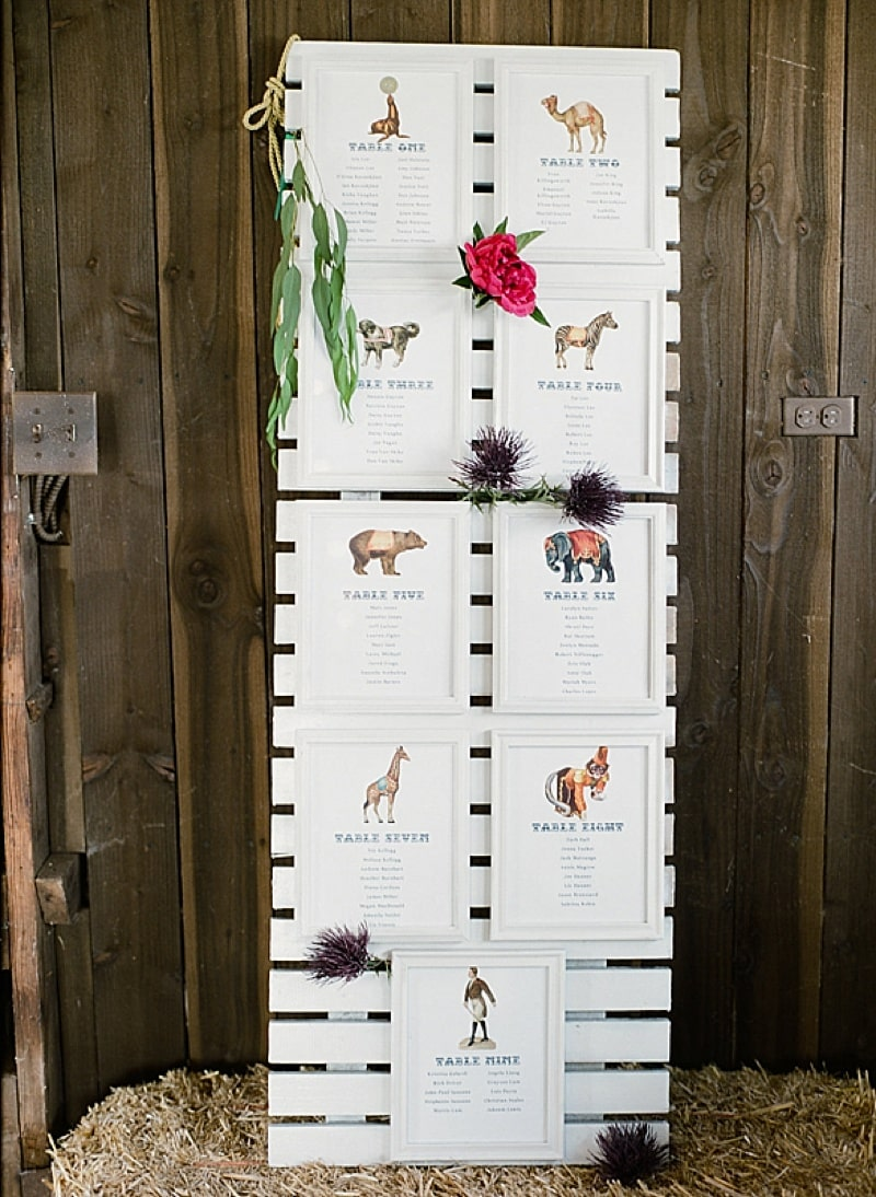 Vintage Wedding with Carnival Details | The Budget Savvy Bride