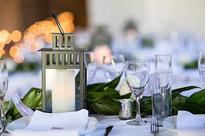 Elegant DIY wedding decor