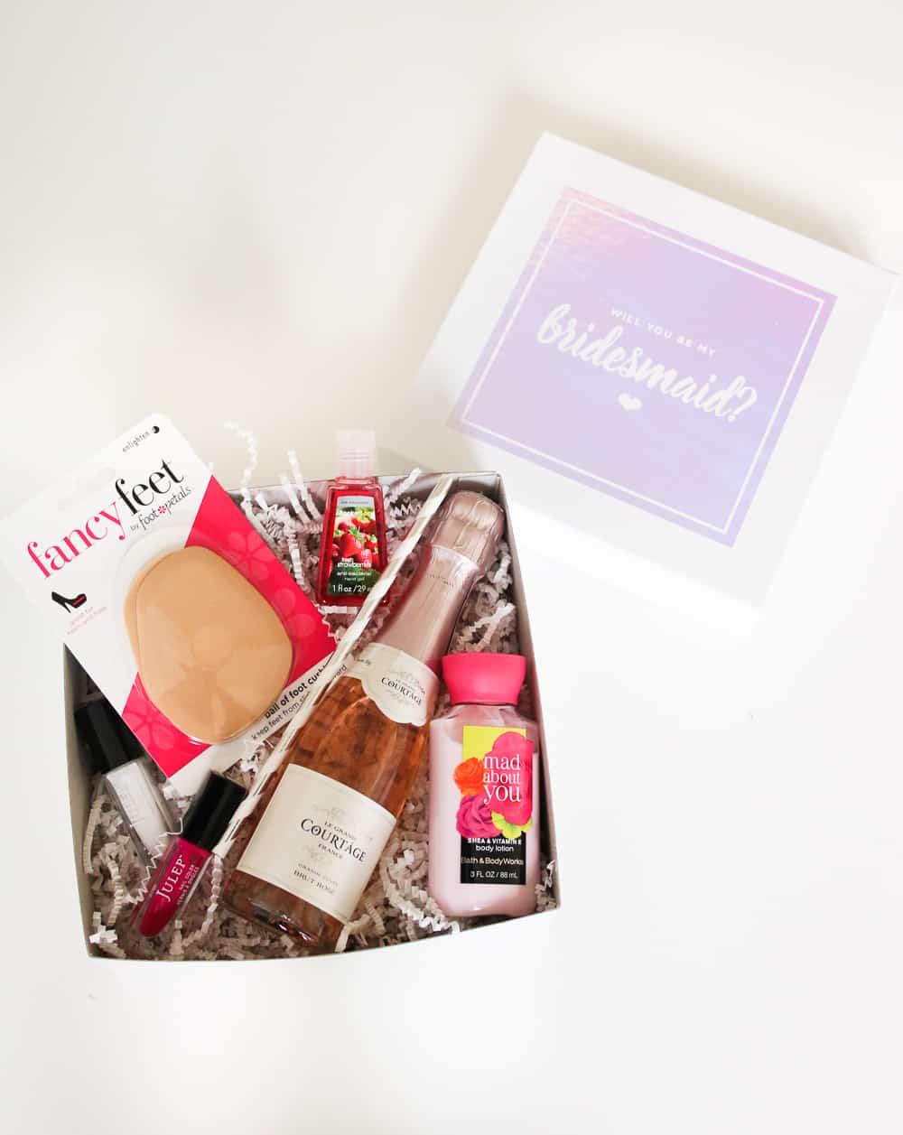 DIY Bridesmaids Proposal Box with Cricut