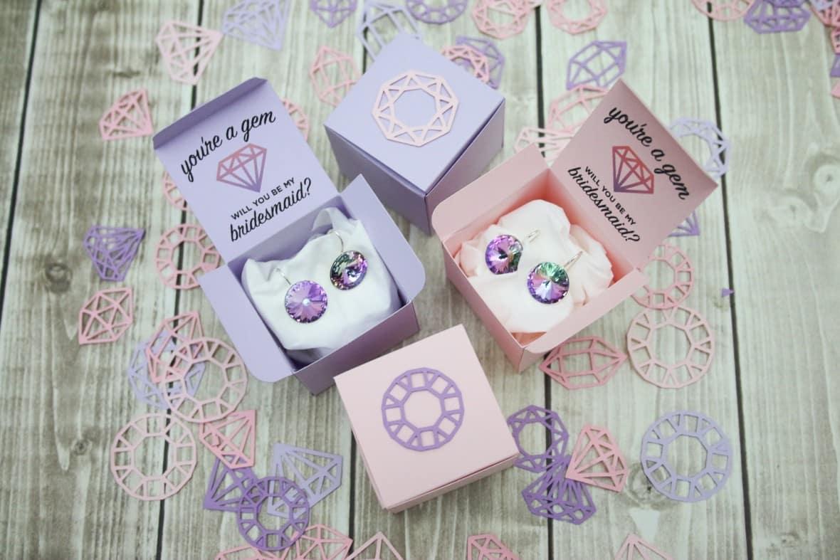 DIY Bridesmaids Proposal Gift with the Cricut Explore Air