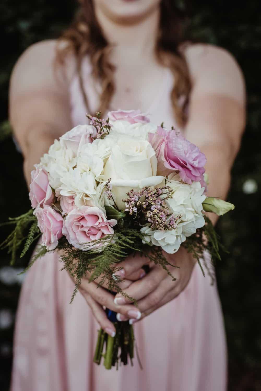 bouquet, wedding flowers, bridesmaid