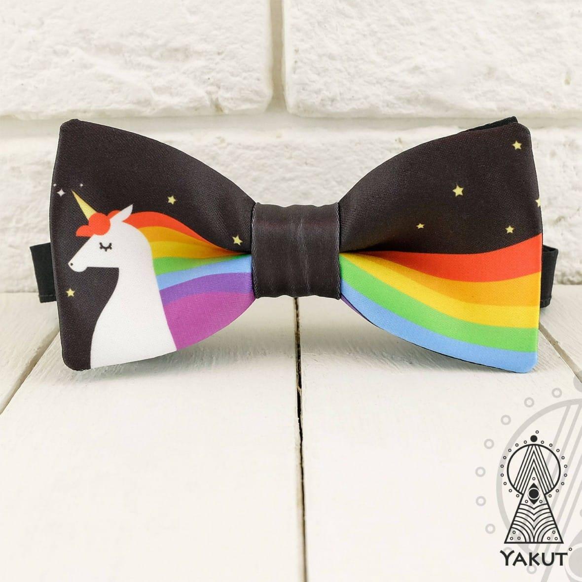Unicorn Bow Tie by BowTieYAKUT
