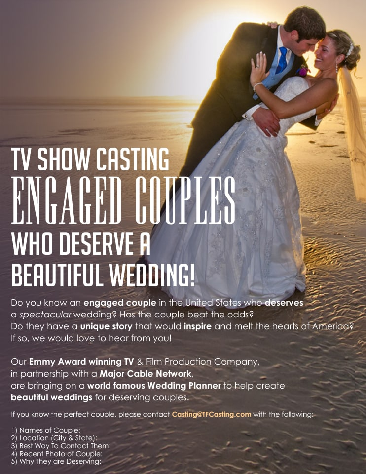 Wedding deals april 20 2018 the budget savvy bride enter to win an amazing tv wedding planned by a world famous wedding planner contact castingtfcasting with your names location best fandeluxe Gallery