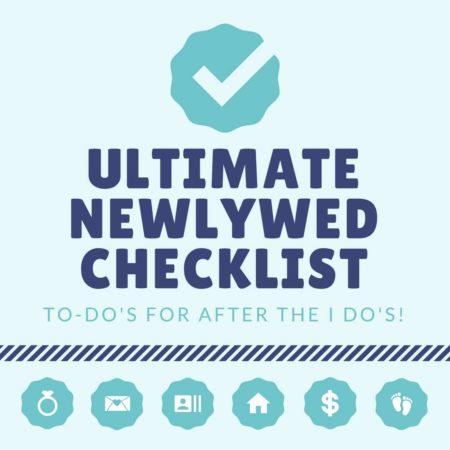 ultimate newlywed checklist