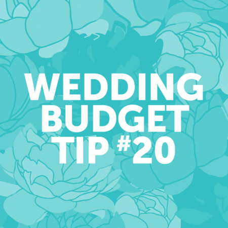 Wedding Budget Tip #20: Serve a signature cocktail instead of an open bar