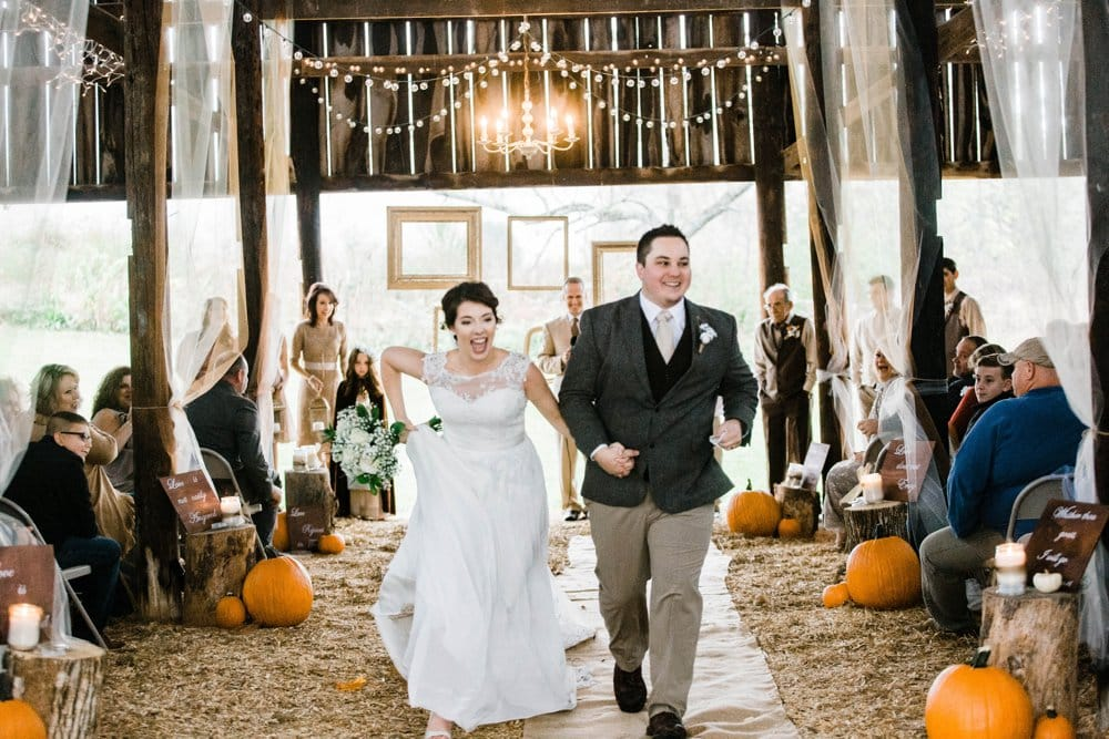 fall wedding, wedding ceremony, aisle decor