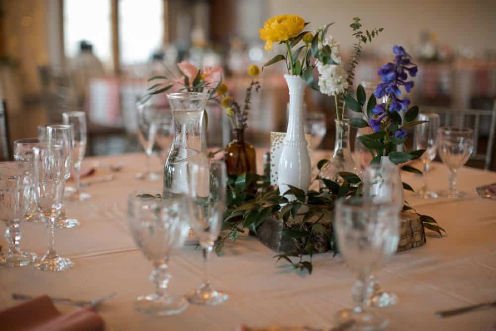 boho classic California wedding, diy wedding decor